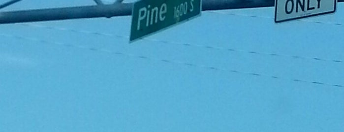 72 & Pine Streets is one of Most Frequent.