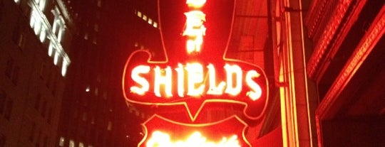 House of Shields is one of San Francisco: Drinks.