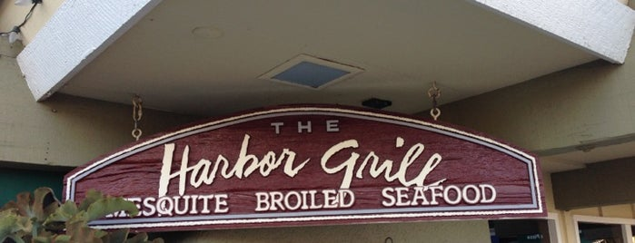 The Harbor Grill is one of Orange County.