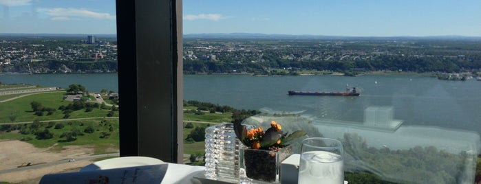 L'Astral Bar-Restaurant Rotatif is one of T's Foodie Lists: Quebec City.