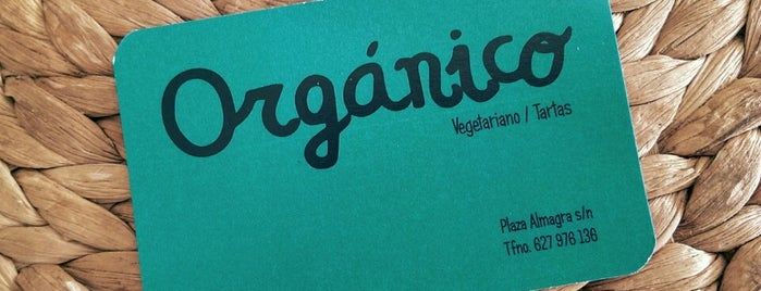 Orgánico is one of Cordoba Vegan.