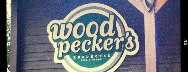 Woodpeckers Roadhouse is one of Burger!.