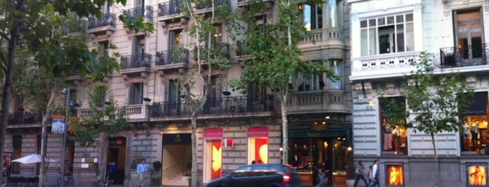 Calle de Serrano is one of Dieter's favourite spots in Madrid.