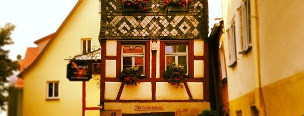 Gasthof Grüner Baum is one of Nuremberg's favourite places.