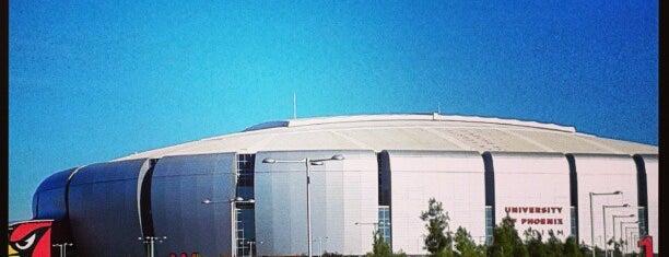 University of Phoenix Stadium is one of NFL Stadiums.