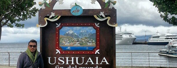 "Cartel de ""Ushuaia, fin del mundo"" is one of Patagonia (AR)."