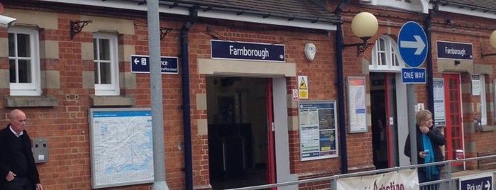 Farnborough Main Railway Station (FNB) is one of Railway stations I've been to.