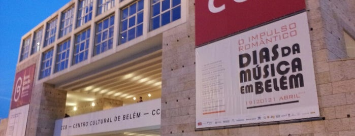 Centro Cultural de Belém (CCB) is one of abc in Lisbon.