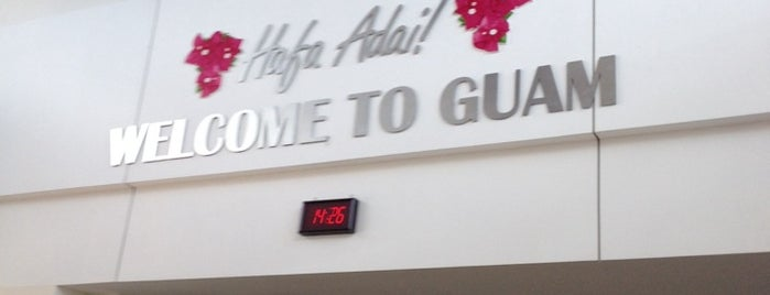 A.B. Won Pat Guam International Airport (GUM) is one of Airport check-in.