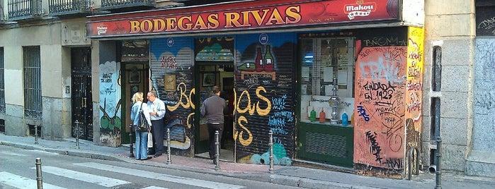 Bodegas Rivas is one of Madrid: de Tapas, Tabernas y +.