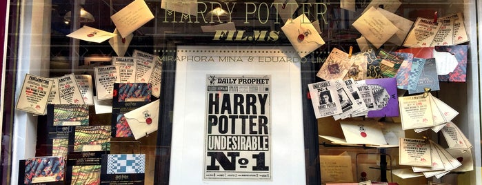 House of Minalima is one of Harry Potter sights.