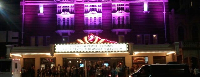 Paramount Theatre is one of SXSW 2012.