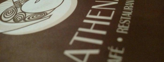 Athenas is one of Restaurantes no centro (ou quase).