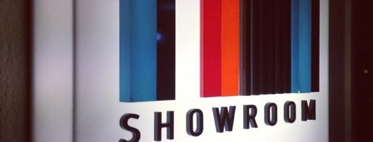 Showroom is one of Places.