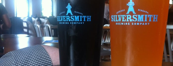 Silversmith Brewery is one of Niagara.