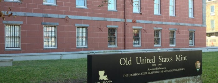 Old U.S. Mint is one of NOLA.