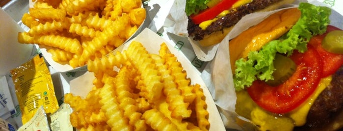 Shake Shack is one of My favourites for Cafes & Restaurants.