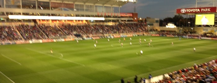Toyota Park is one of Naperville, IL & the S-SW Suburbs.