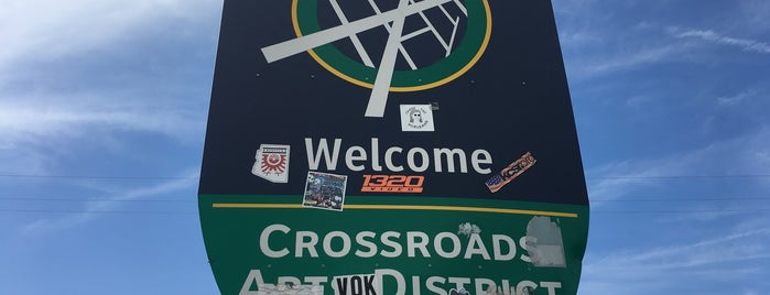 Crossroads Art District is one of Missouri (MO).