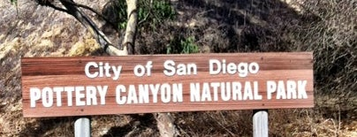 Pottery Canyon Preserve is one of San Diego's 59-Mile Scenic Drive.