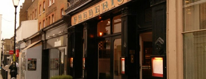 Frederick's Bar & Restaurant is one of Eat London 2.