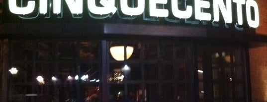 Cinquecento is one of #BeRevered Best of Boston: South End.