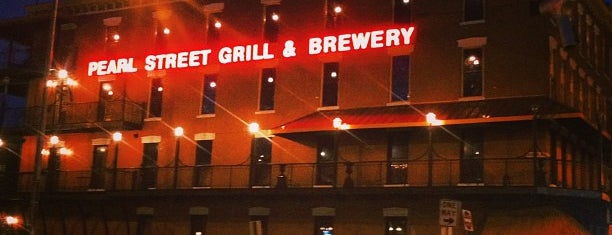 Pearl Street Grill & Brewery is one of Our Buffalo Trip.