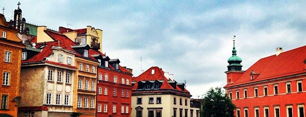 Old Town is one of Warsaw.