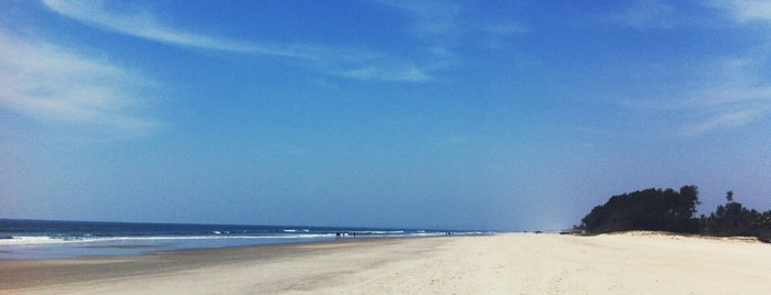 Varca Beach is one of India places to visit.