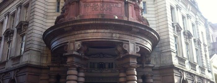 Museu do Café - Edifício da Bolsa Oficial de Café is one of Museus e Centros Culturais.