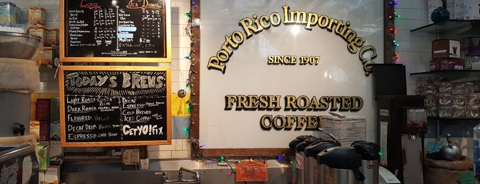Porto Rico Importing Co. is one of Notable Coffee Shops (NYC).