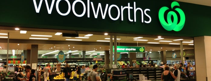 Woolworths is one of Around The World: SW Pacific.