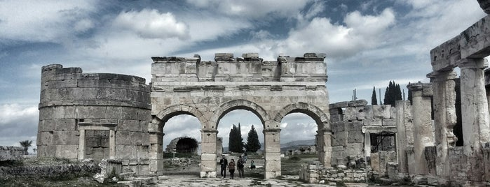 Hierapolis is one of Denizli.