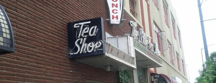 The Little Tea Shop is one of Diners, Drive-Ins, and Dives- Part 2.