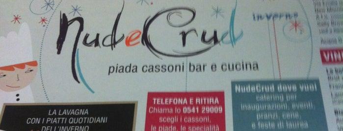 Nud e Crud is one of 2018_daprovare.