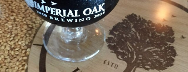 Imperial Oak Brewing is one of Chicagoland Breweries.