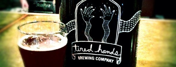 Tired Hands Brewing Company is one of To-do list for Philly suburbs.