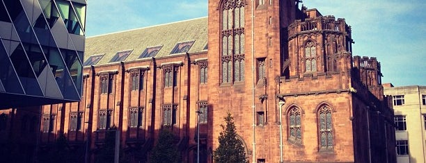 The John Rylands Library is one of Ziggy goes to Manchester.