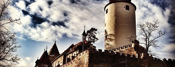 Křivoklát Castle is one of Weekend.