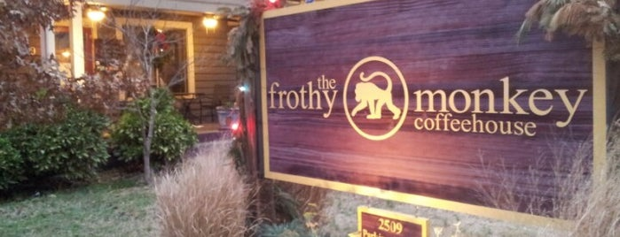 The Frothy Monkey is one of The 15 Best Trendy Places in Nashville.