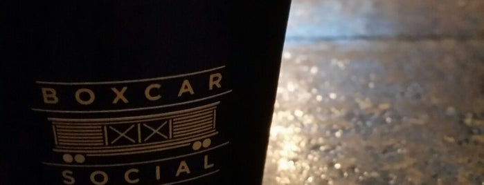 Boxcar Social is one of Toronto.