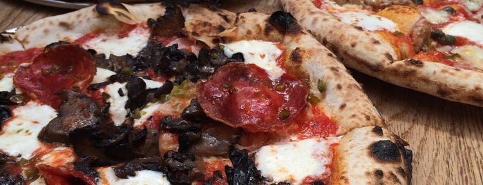 Roberta's Pizza is one of The 15 Best Places for a Pizza in Brooklyn.