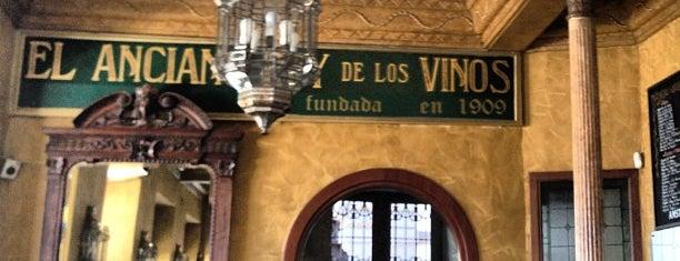 El Anciano Rey de los Vinos is one of Madrid: de Tapas, Tabernas y +.