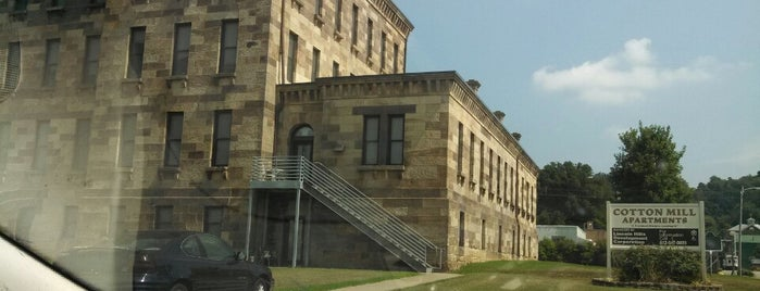 Cannelton Cotton Mill is one of Indiana's National Historic Landmarks.