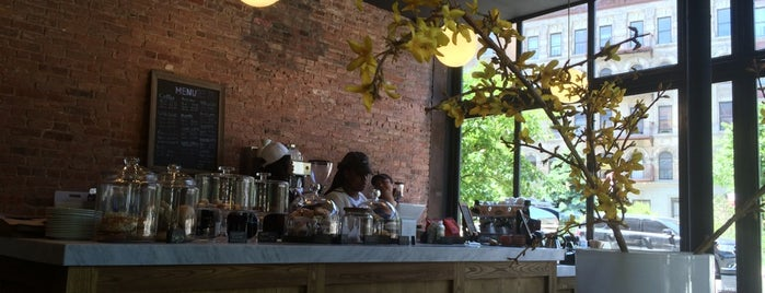 Manhattanville Coffee is one of Dining in Harlem (cafes, bistros, sandwich shops).
