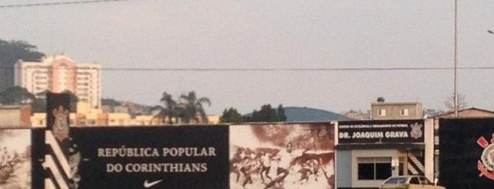 CT Joaquim Grava - Corinthians is one of Top 10 favorites places in São Paulo, Brasil.