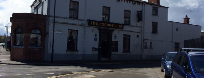 The commercial is one of Old Man Pubs.