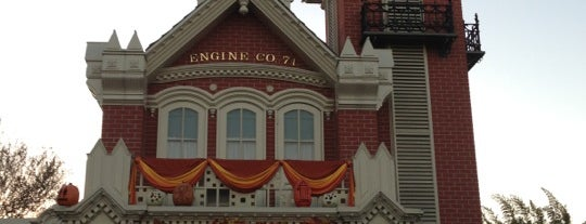 Sorcerers of the Magic Kingdom - Fire House is one of Favorite Places in Florida.