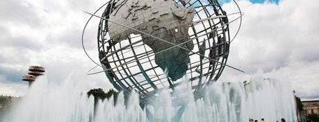 Flushing Meadows-Corona Park is one of Waldo NYC: New York City for Teens.