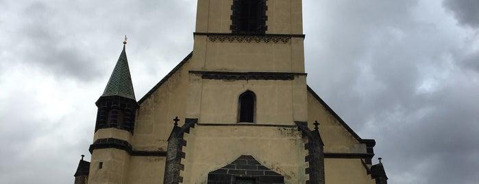 Kostel Nanebevzetí Panny Marie is one of churches.